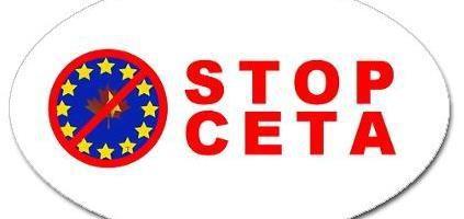 Znalezione obrazy dla zapytania stop CETA